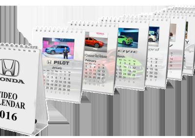 VideoYouBook – Video Calendar in print